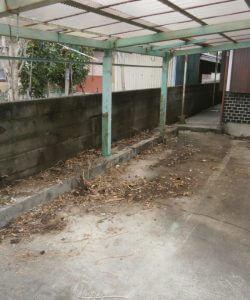 木製棚、コメスター、植物、その他備品類を回収させて頂きました。